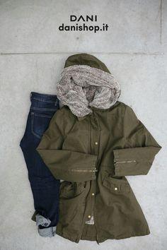 #DANI ⛄⛄⛄ Trend report : il PARKA, un capospalla evergreen…comodo, caldo e casual! L'outfit completo lo trovi su danishop.it PARKA  http://goo.gl/Go4wpM JEANS  http://goo.gl/gAAk3o #parka #casual #evergreen #danishop