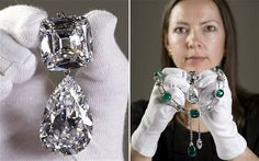 A dazzling exhibition of royal gems being staged to mark the Queen's 60-year reign will feature jewellery made from the world's largest diamond.