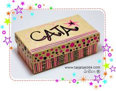 Tutorial: Cómo personalizar cajas con nombres.