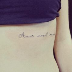 amor vincit omnia. #quote Love the placement and font.