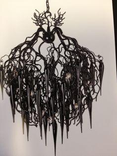 Liquid chandelier MARGO B