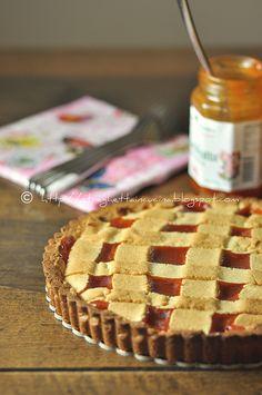 Una streghetta in cucina: Crostata di frolla alle mandorle con marmellata di...