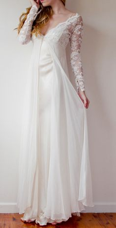 Love this wedding night gown