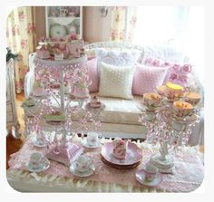 Elegant & Sophisticated Dolly High Tea Parties ♡