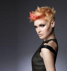 in sync: Block Party - Matrix Artistic Directors Nick Stenson and Ammon Carver.  ModernSalon.com  #haircolor #howto #fashion