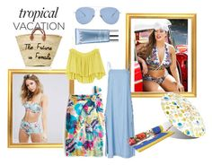 """A Beach Trip!"" by rachna-priyanka on Polyvore featuring Seafolly, Ashley Graham, Orlane, Kaleos, Jonathan Simkhai, Dolce&Gabbana, J.Crew, Apiece Apart, beachday and beach"