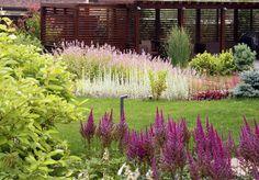 Сад на склоне: проект Светланы Чижовой