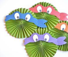 DIY Ninja Turtle Medallions