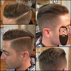 Taper Everything — Probably my most requested haircut I get from my...
