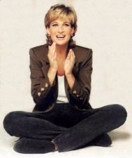 Love this photo of Diana