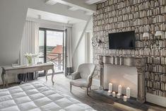 Mazuria Arte Manor Hotel and SPA - Bookshelves wallpaper by KOZIEL