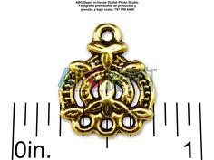 #Conector #Connetor #Link en #Metal #Oro antiguo 3-1 de 13x16mm. Bolsita con 6,  Código: 31H1316