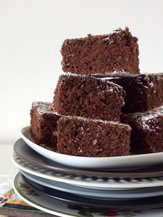 Chocolate sunflower oil cake