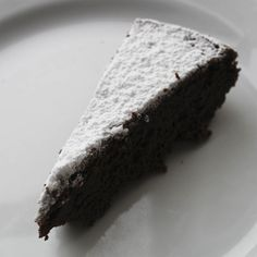Italian chocolate marzipan cake