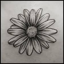 Tattoo Sleeve Black And White Birth Flowers 25 Ideas - # White Over Black Tattoo, White Daisy Tattoo, Small Black Tattoos, Flower Tattoo Hand, Flower Tattoos, Daisies Tattoo, Music Tattoo Designs, Flower Tattoo Designs, Leg Tattoos