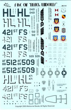 aircraft decals - Google Search