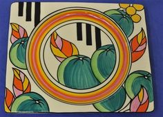 Wedgwood Clarice Cliff 'Bizarritz' plate