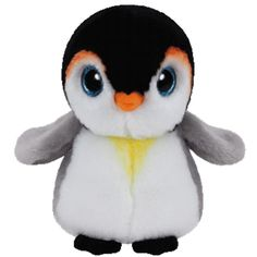 Ty Beanie Boo s 8  PONGO the Penguin Beanies Soft Toy Plush NWMT