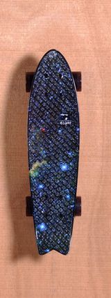 "Globe 23"" Bantam ST Skateboard Complete - Galaxy"