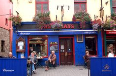 Ireland: I had lunch here when I was in Galway. I adored everything about Ireland-the people, the scenery, the music and the food