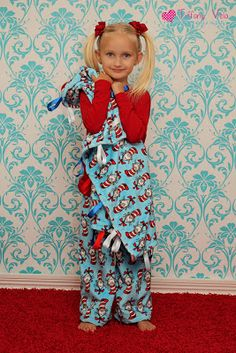 Free Ribbon Blanket Tutorial from Create Kids Couture