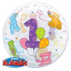 Bubble Balloons22 inch Age 1 Teddy Bears£3.49each