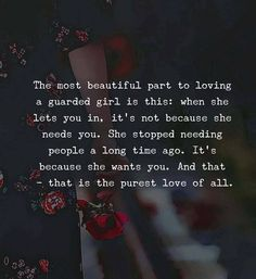 The most beautiful part to loving a guarded girl.. via (http://ift.tt/2uAyrBi)