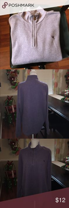 American Living American Living long sleeve zip up. Light purple. Looks so good with Collard shirt and jean. Size XL. No holes stains or tears. Happy poshing. American Living  Shirts Tees - Long Sleeve