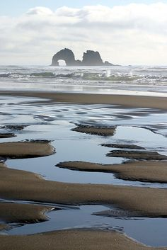 My favorite place to BREATHE.  Rockaway Beach, OR. Was here today dipping my feet in :)