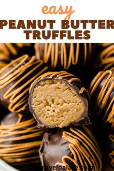 These Peanut Butter Truffles, also known as peanut butter balls, are a delicious, no bake chocolate treat anyone can make. Made with just 4 ingredients including cookies and cream cheese. Ready in about 30 minutes!