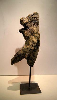 Vestige. E.LacroixMathieu Lion Sculpture, Ceramics, Statue, 3d, Terracotta, Figurative, Ceramica, Pottery, Ceramic Art