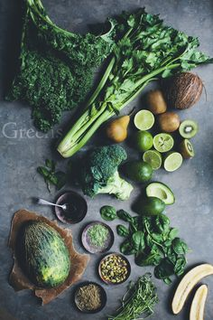 Green Recovery Smoothie + Super C Anti-Inflammatory Smoothie by Green Kitchen Stories + etcetera