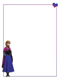 """Anna - Frozen - Project Life Journal Card - Scrapbooking ~~~~~~~~~ Size: 3x4"""" @ 300 dpi. This card is **Personal use only - NOT for sale/resale** Logo/clipart belongs to Disney. *** Click through to photobucket for more versions of this card ***"""