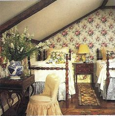 Charming Attic Bedroom