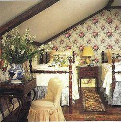 Reminds m of Granny and Grandpa's old attic.