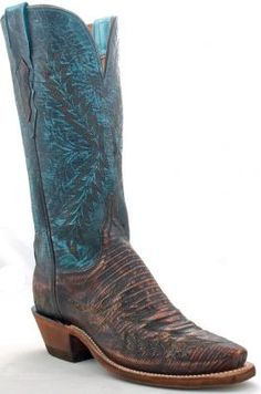 Ladies Lizard cowboy boots by Lucchese