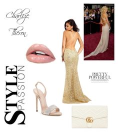 """Get The Look:Oscars"" by antobiscuit on Polyvore featuring Clarisse and Gucci"
