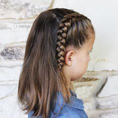 Hairstyles | Hair Ideas | Hairstyles Ideas | Braided Hair | Braided Hairstyles | Braids for Girls | Braids for Little Girls | Toddler Hairstyles | Toddler Hair Ideas | Braids | Updos | Half Up | Ponytails | Dutch Braid