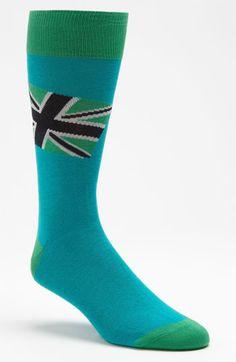 Lorenzo Uomo Union Jack Socks | Nordstrom