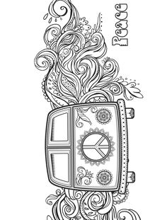 Good Hippie Coloring Pages 27 For Coloring Pages for Adults with Hippie Coloring Pages