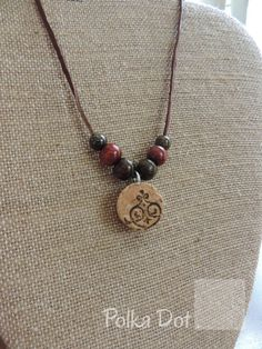 Red necklace Wine cork necklace Gifts for her Unique by PDSreCork, $17.00
