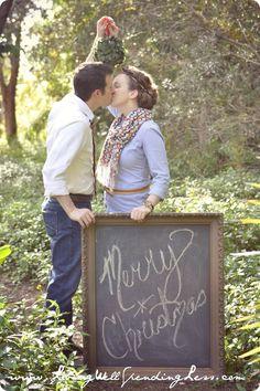 couples christmas card photo ideas   cute Christmas card photo idea for couples!   Captured Memories, Phot ...