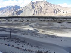 SAND DUNES - Near Hunder Village — taken during the trip at Leh Ladakh India.