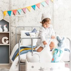 Ideas Dormitorios, Kids Decor, Home Decor, Nordic Style, Kidsroom, Baby Sewing, Kids House, My Children, Kids Bedroom