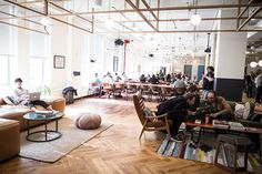 We talked with WeWork's Bobby Ghoshal and Roee Adler about how they design to create community, and what their rapid growth has meant for their design processes.