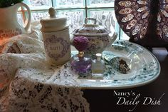 Nancy's Daily Dish: No Meat? No Problem. The Perfect Vanity Tray!