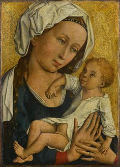 Master of Flémalle or Robert Campin Virgin and Child with Saints in an Enclosed Garden. Robert Campin, who is now . Jewish Art, Religious Art, Robert Campin, Tempera, Art Quiz, Divine Mother, Mother Mary, Renaissance Paintings, Renaissance Art