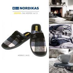 Nordikas TOP LINE CANADA NEGRO. #Nordikas #Lifestyle #Leather #Piel #Calzadodehogar #Trend #MadeInSpain #FW1415