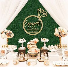 32 Engagement Party Decoration Ideas That'll Put You in the Mood to Say