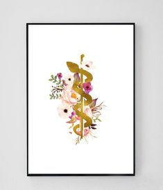 Rod of Asclepius Caduceus Art Medicine Symbol Doctor Pharmacy Art, Nurse Tattoo, Medical Art, Drawings, Dental Art, Art, Symbol Drawing
